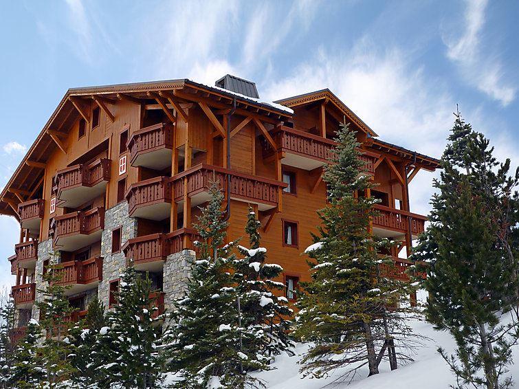 3 Room 6 Pers Ski-in Ski-out / ALPAGES DE REBERTY BLEUET 16