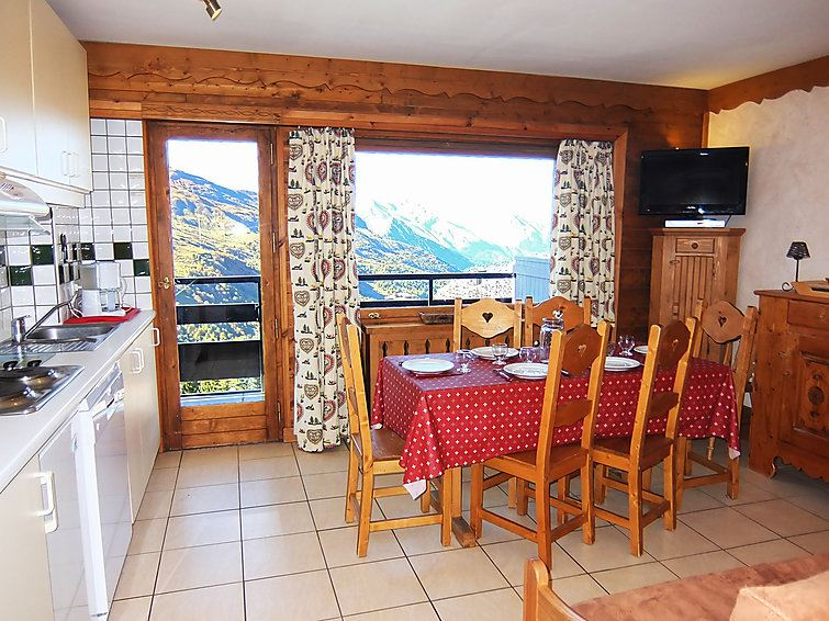 3 Room 6 Pers ski-in ski-out / OISANS 37