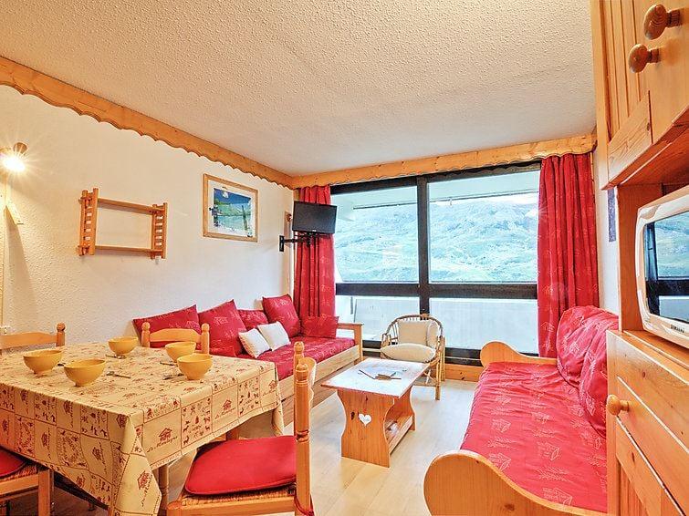 2 Room 5 Pers Ski-in Ski-out / COTE BRUNE 409