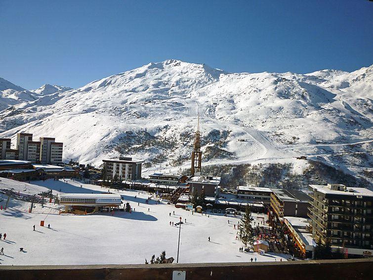 3 Pers Studio Ski-in Ski-out / PELVOUX 102