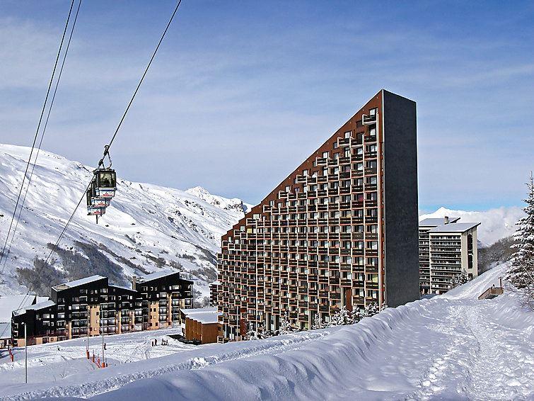 Studio 4 Pers skis aux pieds / CARON 308