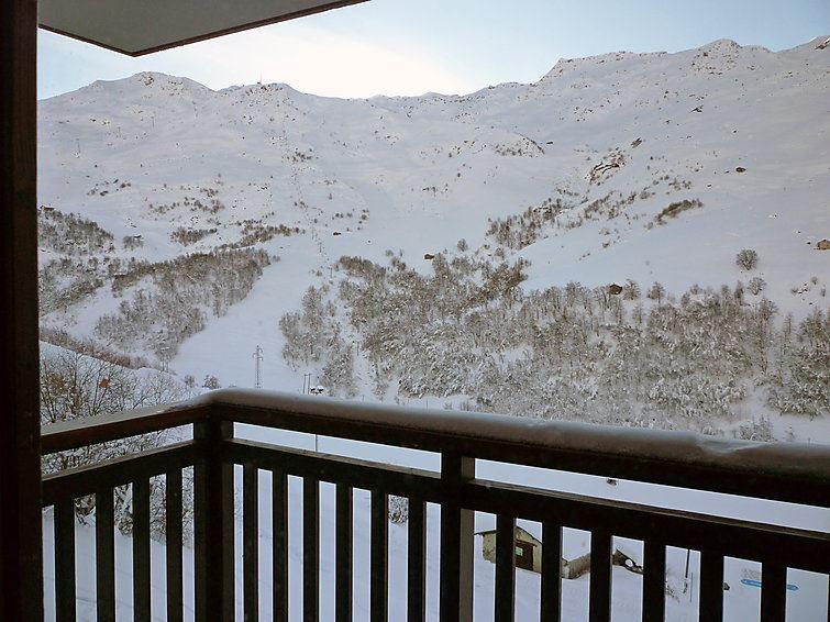 2 Pièces Cabine 6 Pers skis aux pieds / BALCONS D'OLYMPIE 204