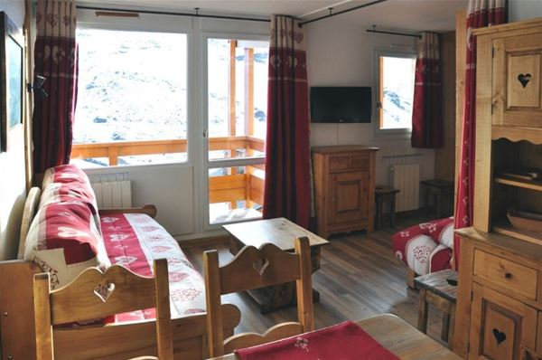 LAUZIERES 508 /APARTMENT 2 ROOMS CABIN 4 PERSONS - 3 SILVER SNOWFLAKES - ADA