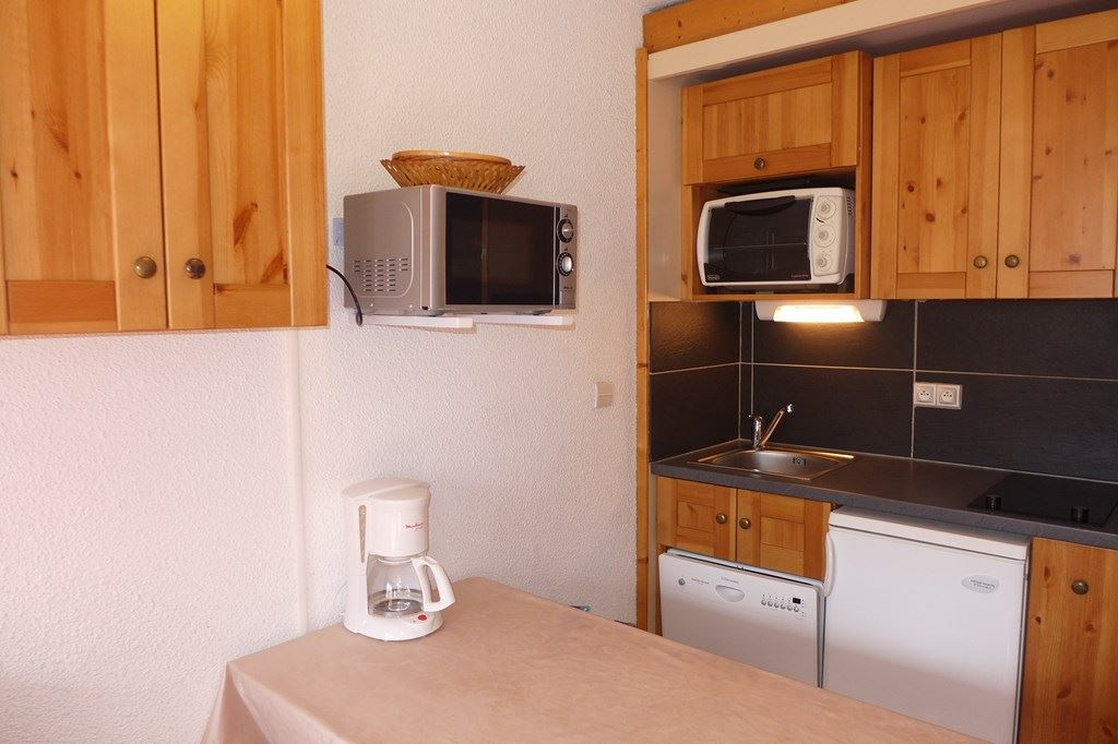 LAUZIERES 609 - 2 ROOMS APT + CABIN - 2 SNOW FLAKES BRONZE - ADA