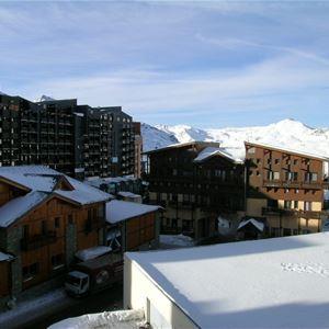 ROCHE BLANCHE 21 / STUDIO 4 PERSONS - 2 BRONZE SNOWFLAKES - ADA
