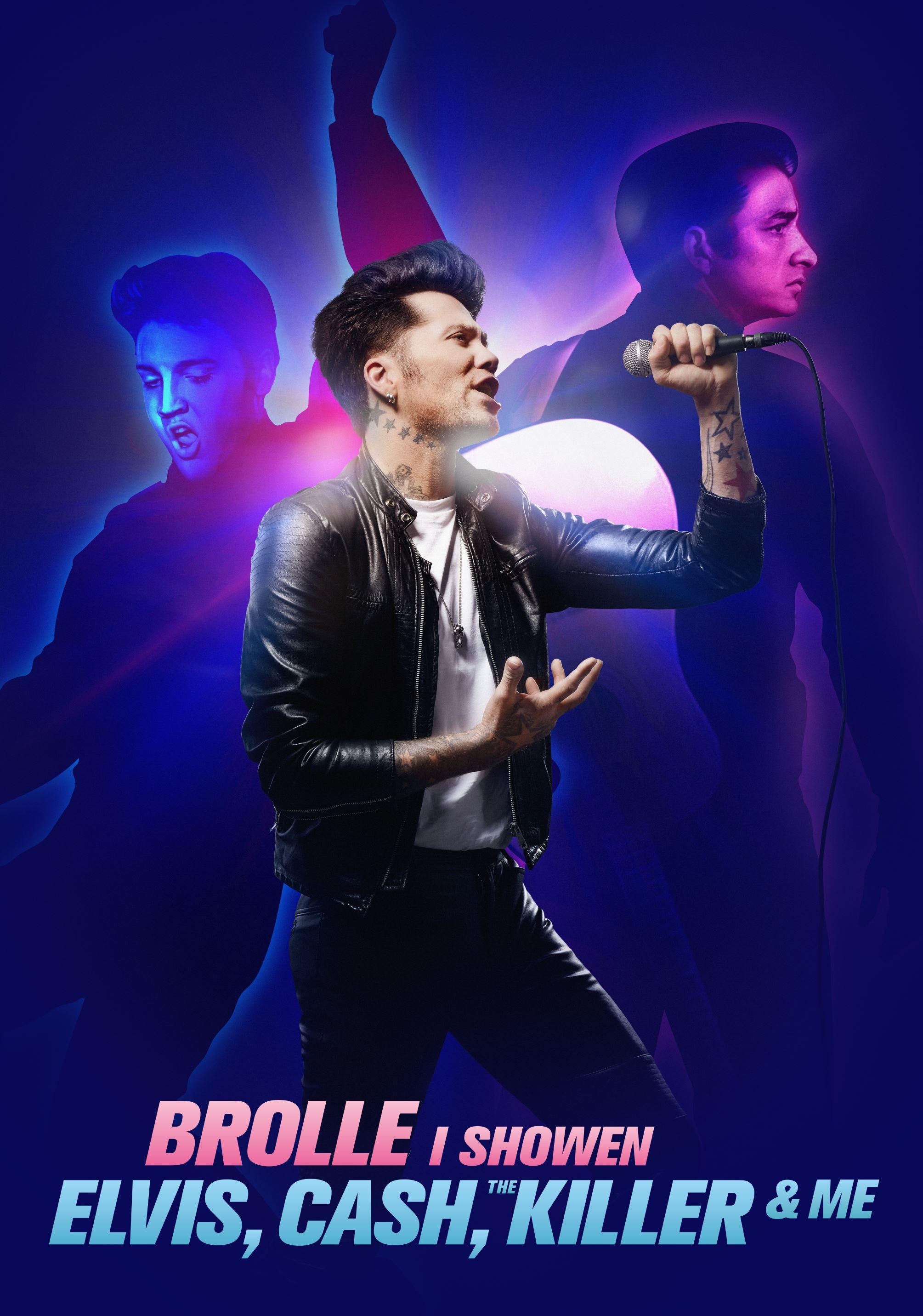 Brolle i showen - Elvis, Cash, The Killer & me