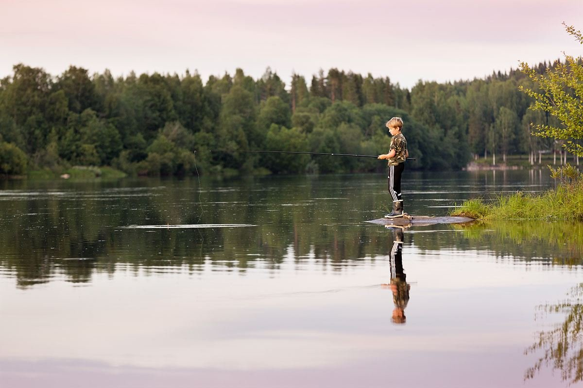 Fishing in Vännäs