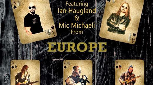 The Gamblers med Ian Haugland & Mic Michaeli från Europe