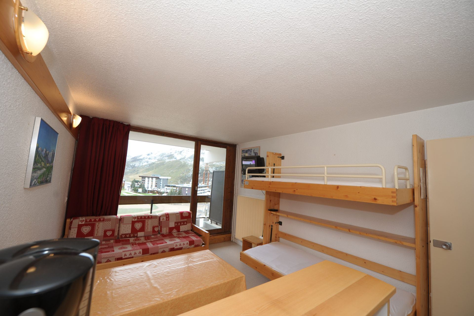 Studio 4 Pers skis aux pieds / CHAVIERE 616