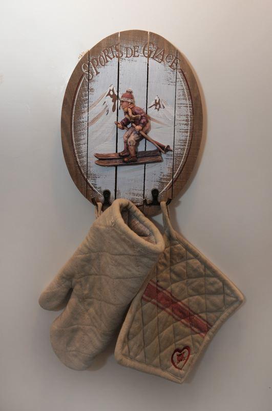 2 Pièces 4 Pers skis aux pieds / SOLDANELLES B 312