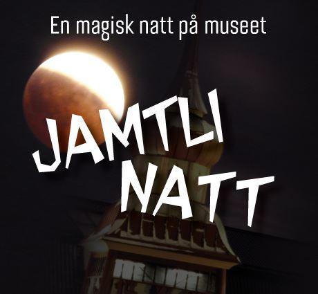 Foto: Jamtlli,  © Copy: Jamtli, Måne på svart bakgrund