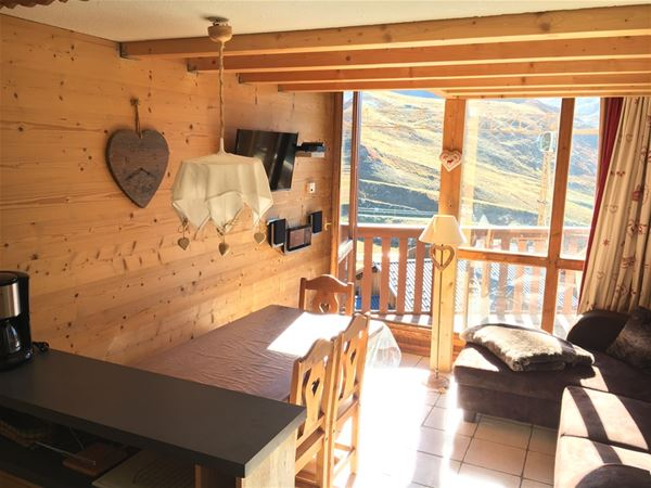 SILVERALP 453 / APARTMENT DUPLEX 4 ROOMS 6 PERSONS - 3 SILVER SNOWFLAKES - ADA