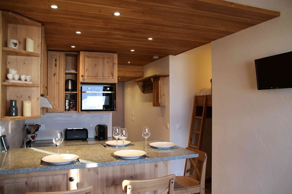 VANOISE 256 - APARTMENT 2 ROOMS - 4 PERSONS - 4 GOLD SNOWFLAKES - ADA