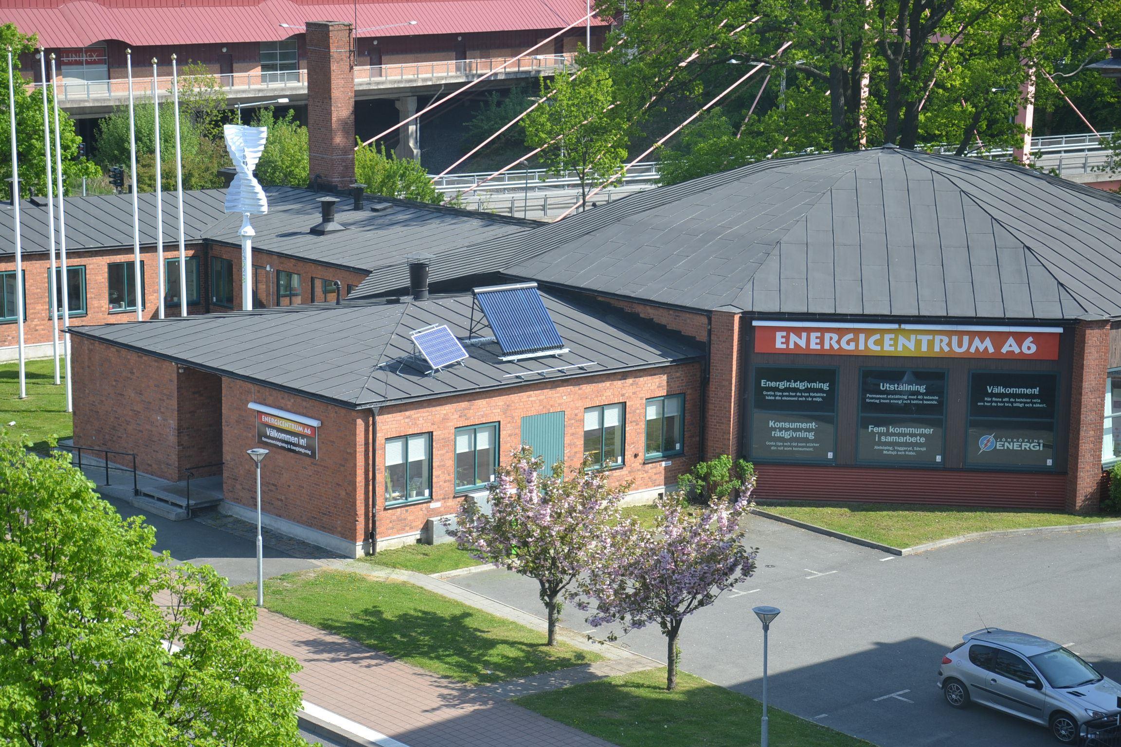 Energimässa på Energicentrum A6