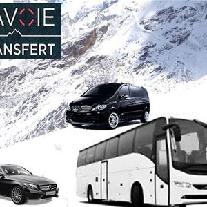PRIVATE TRANSFER from MOUTIERS STATION with VAL THORENS TRANSFERT