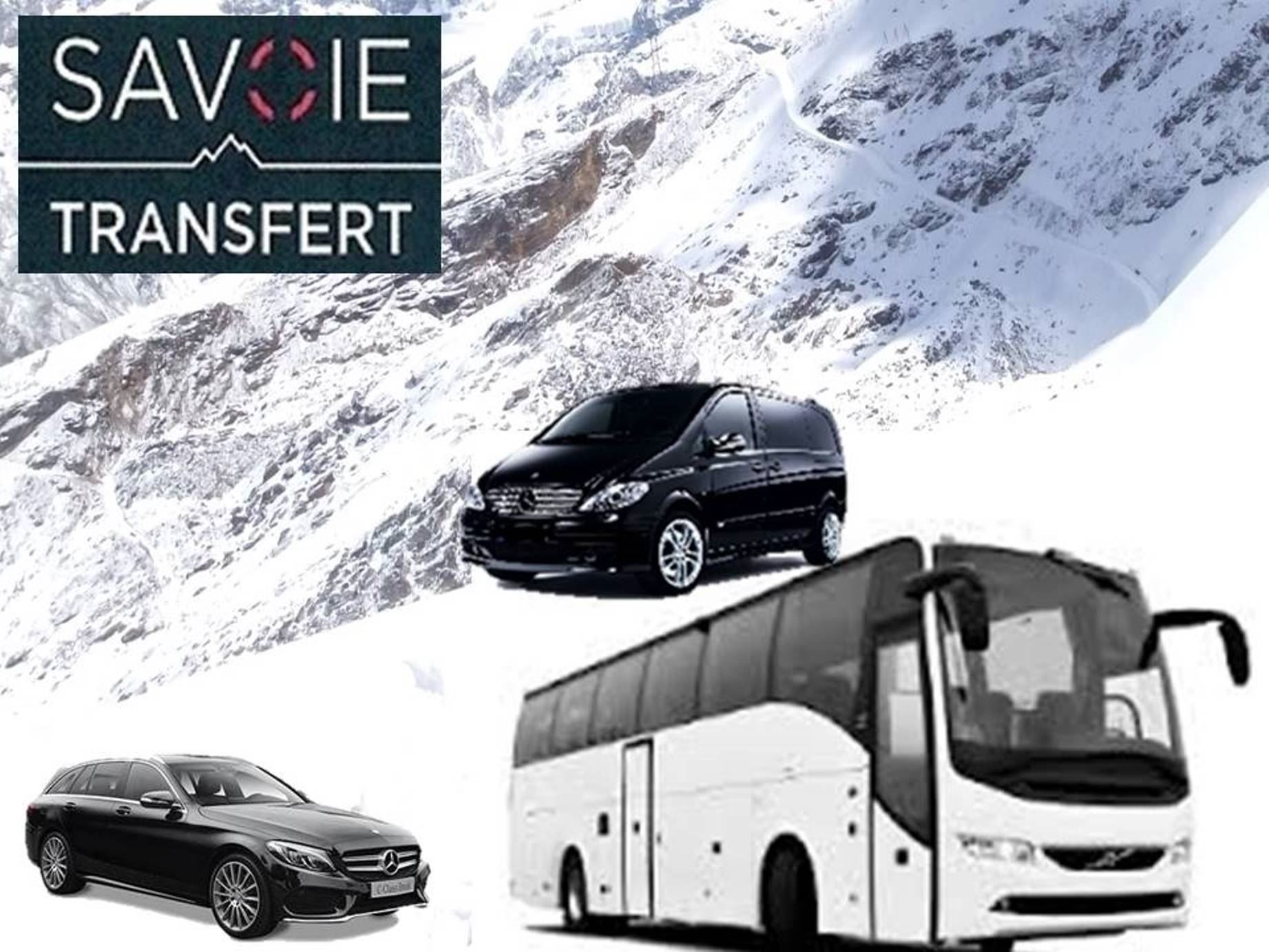 PRIVATE TRANSFER from CHAMBERY STATION ROUND TRIP with VAL THORENS TRANSFERT