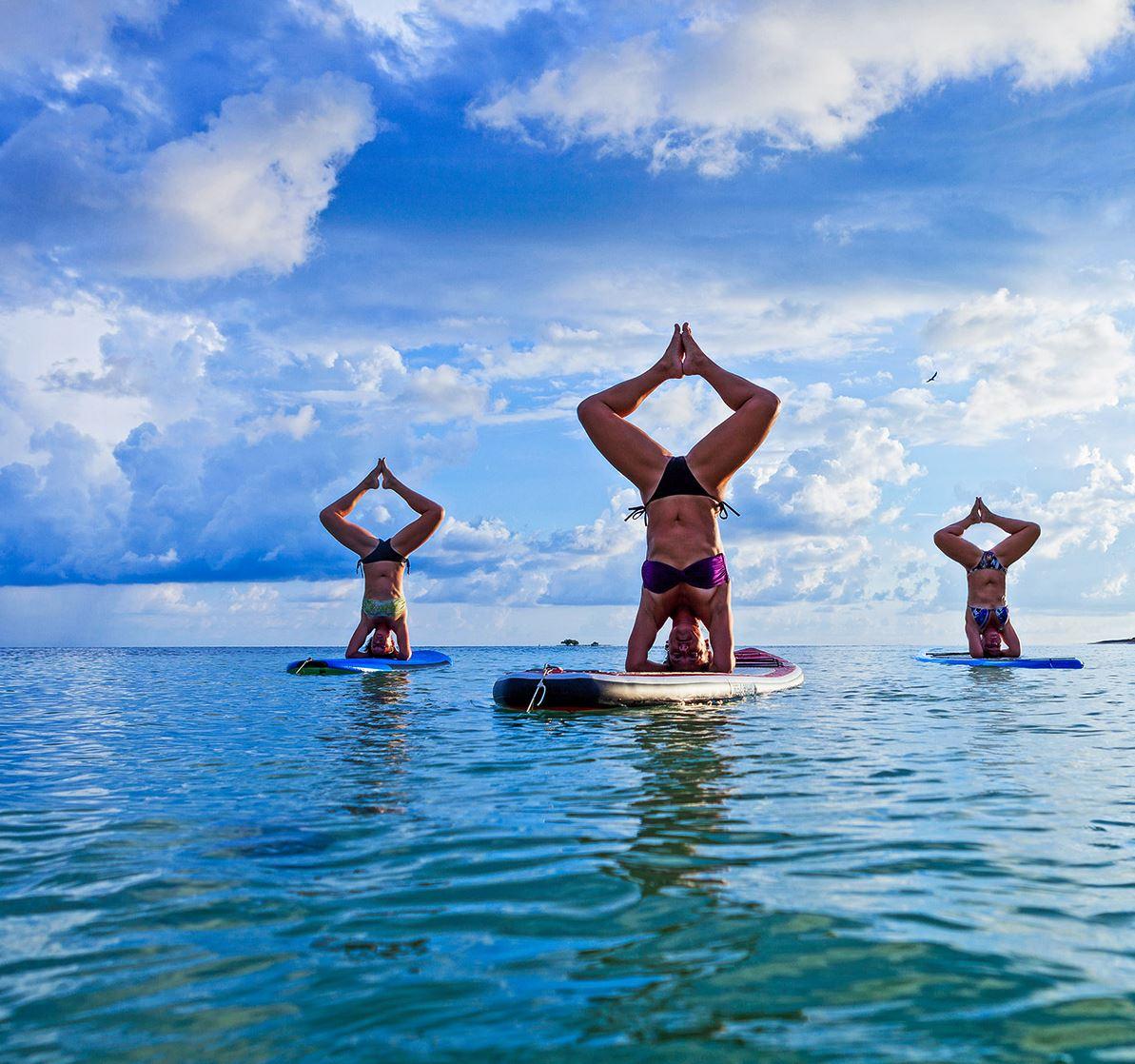 Zarlor détente : Paddle Yoga