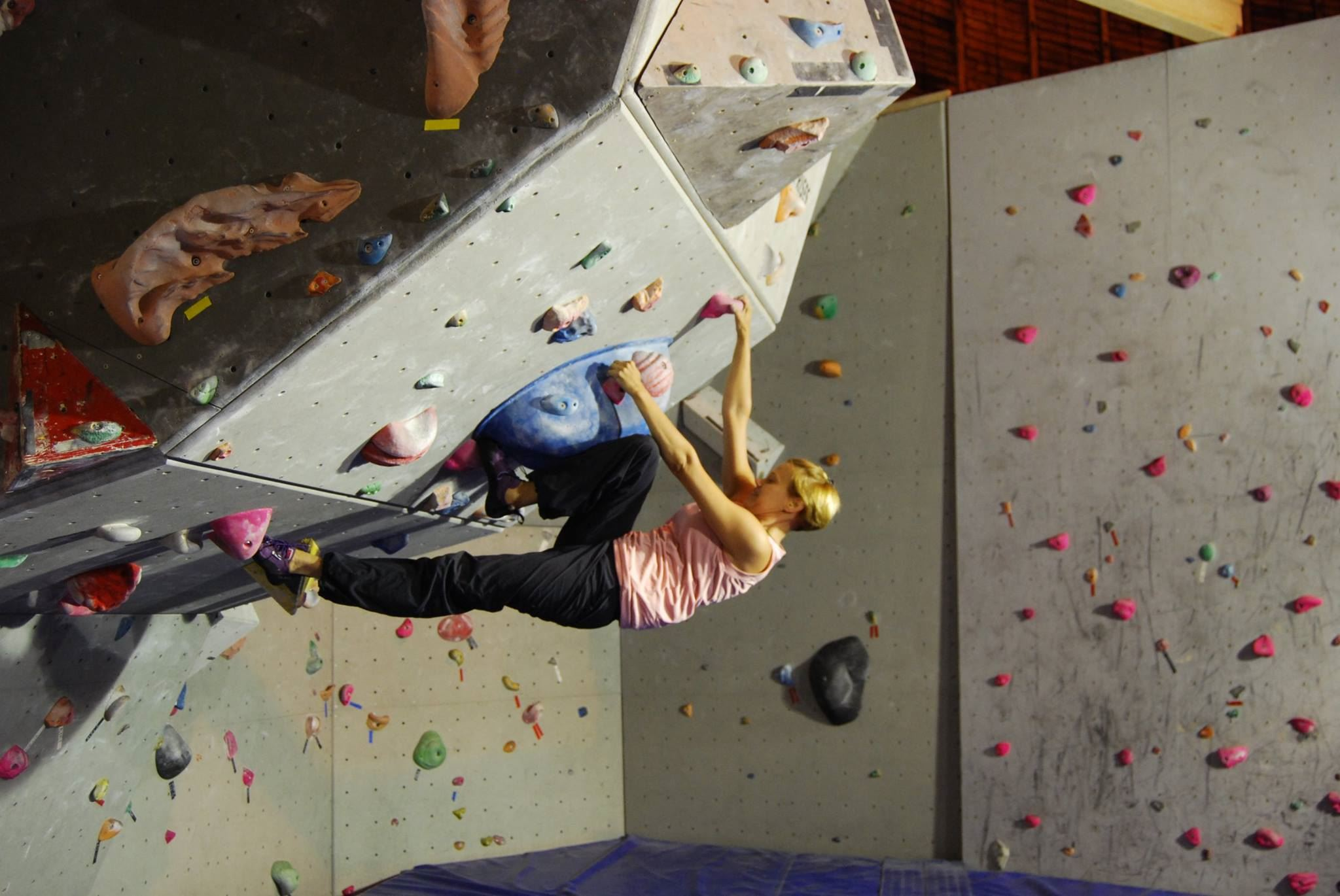Testa klättring med Visby Klätterklubb