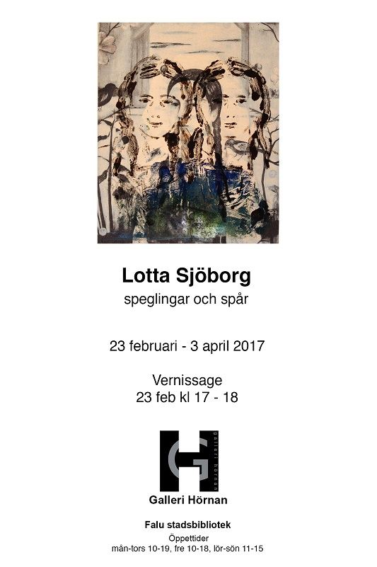 Lotta Sjöborg Speglingar och spår