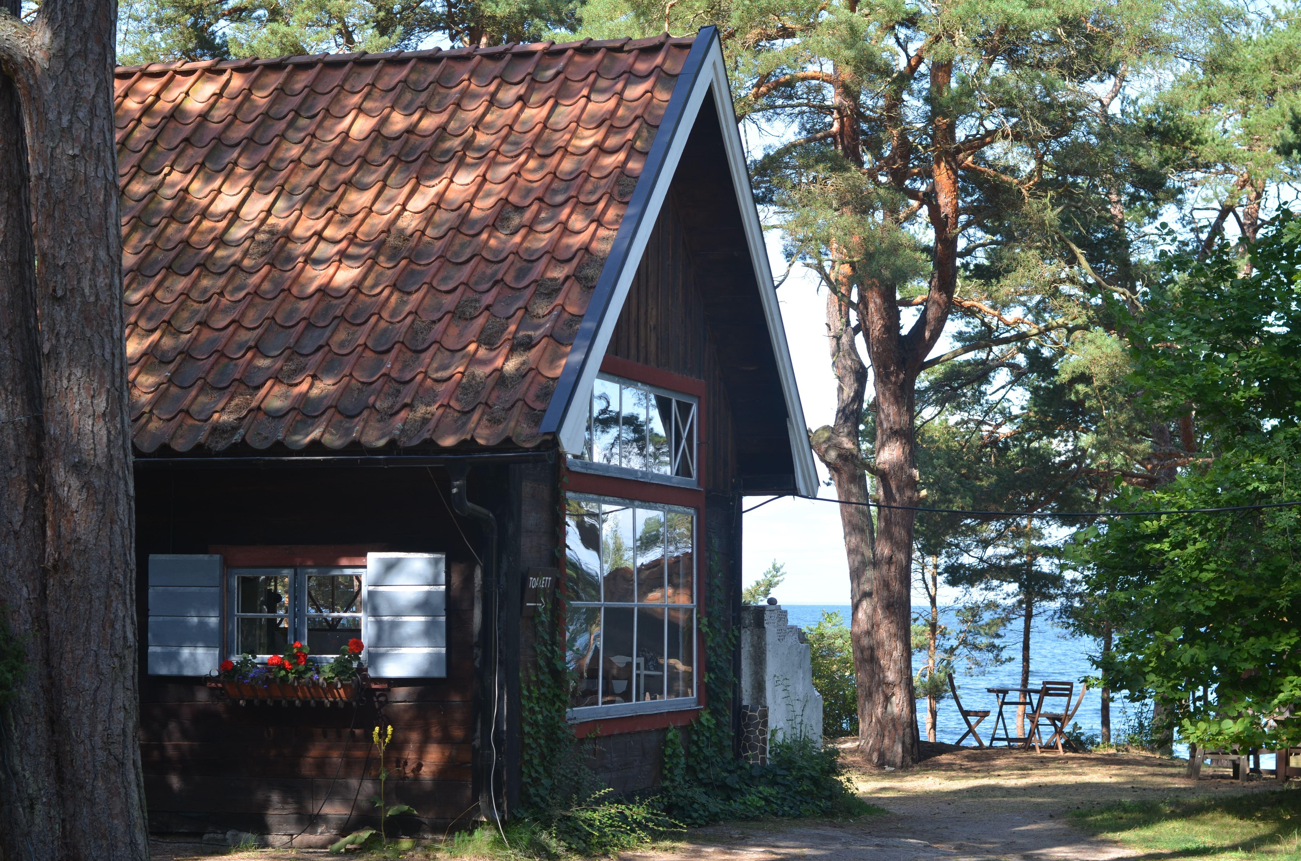 Café Haget in Byxelkrok