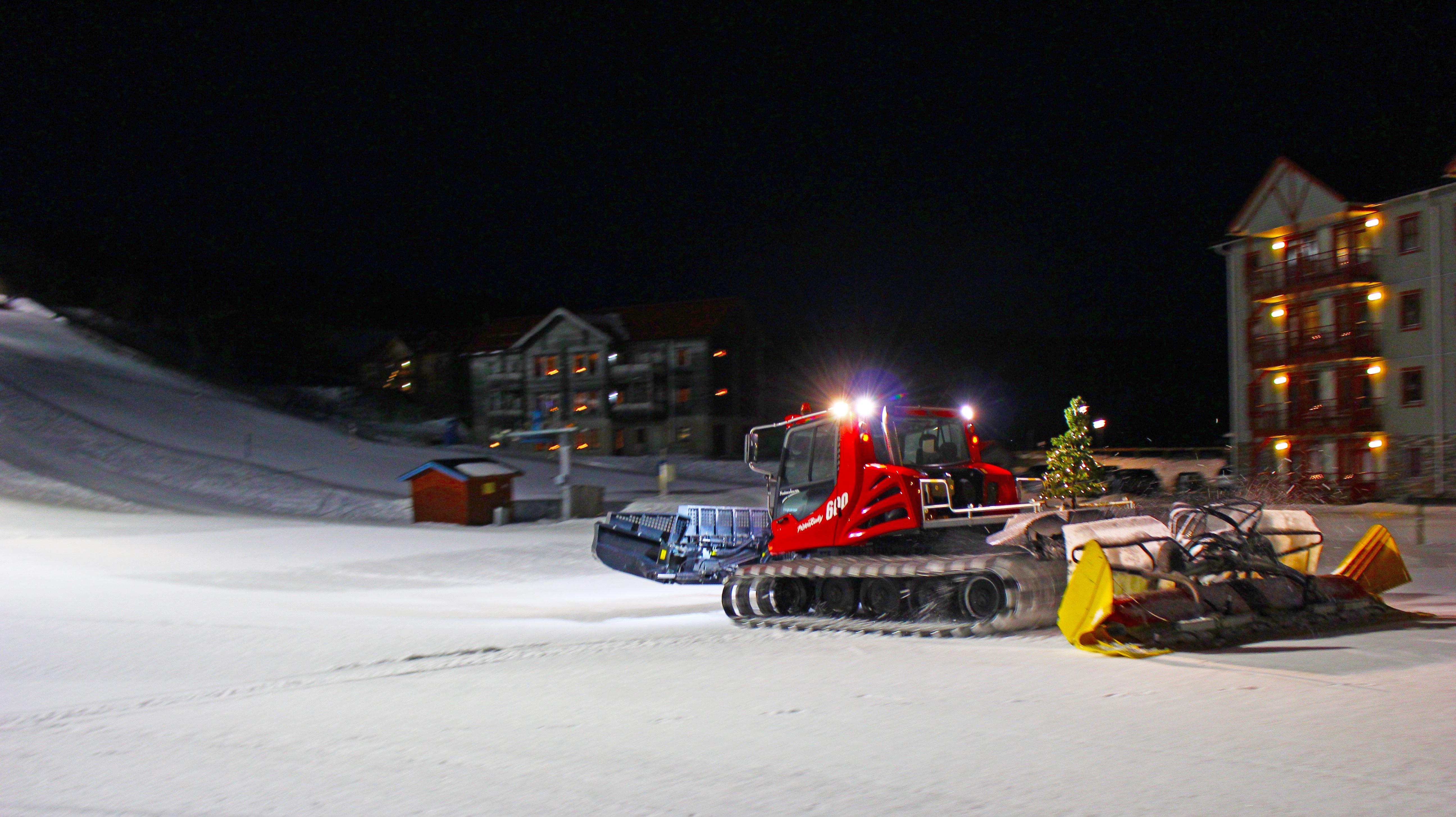 Nattskidåkning i Tänndalen