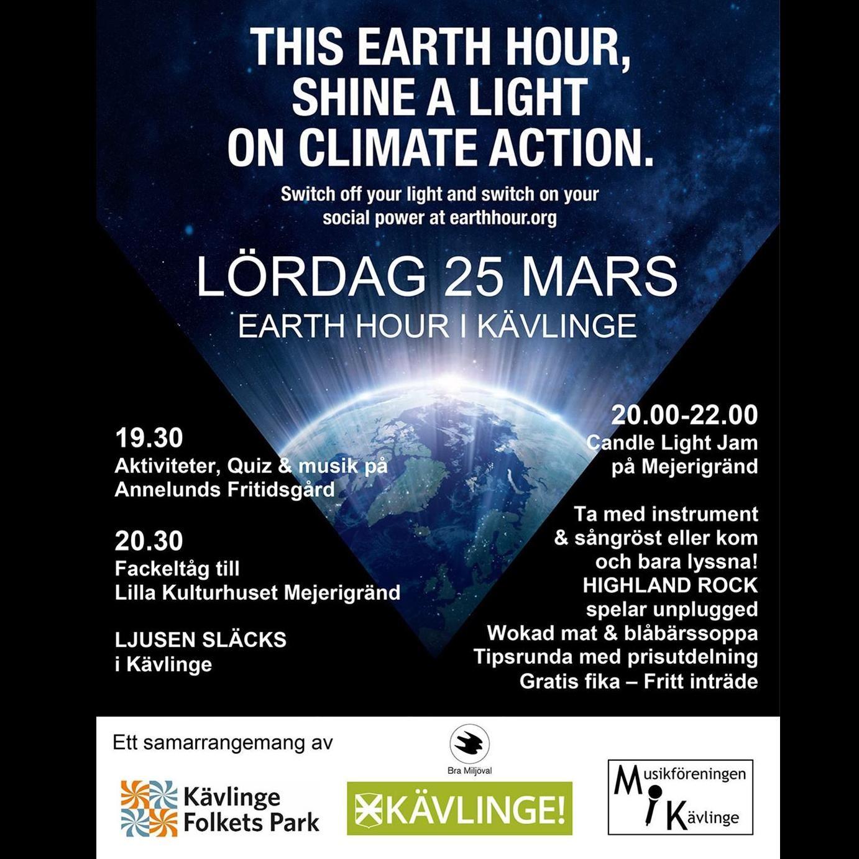 Earth hour 2017: Tillsammans kan vi