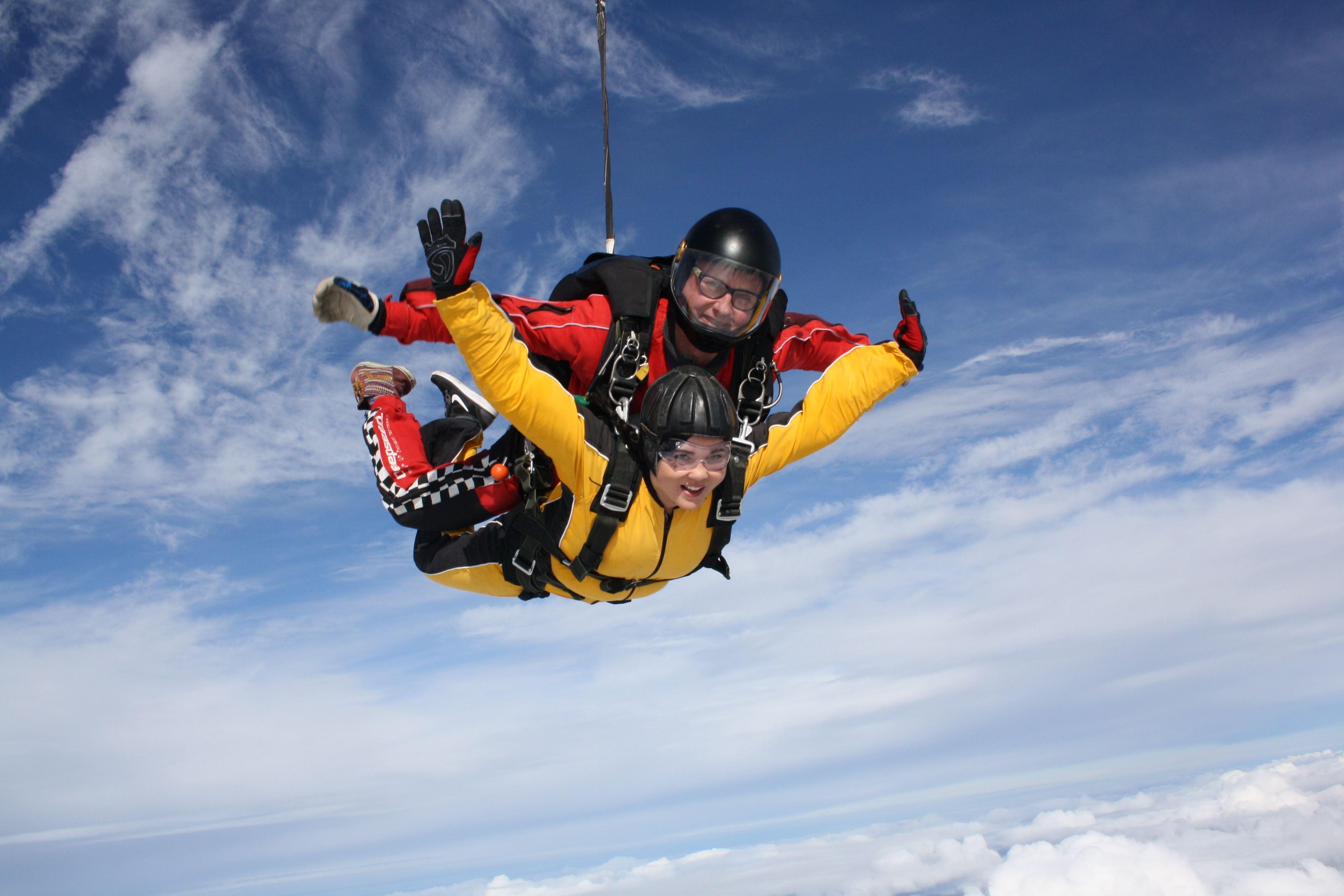 Parachuting in Umeå