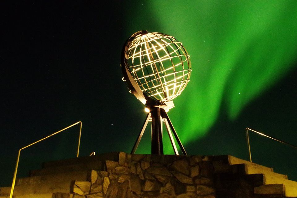 Northern Lights Adventure at the North Cape
