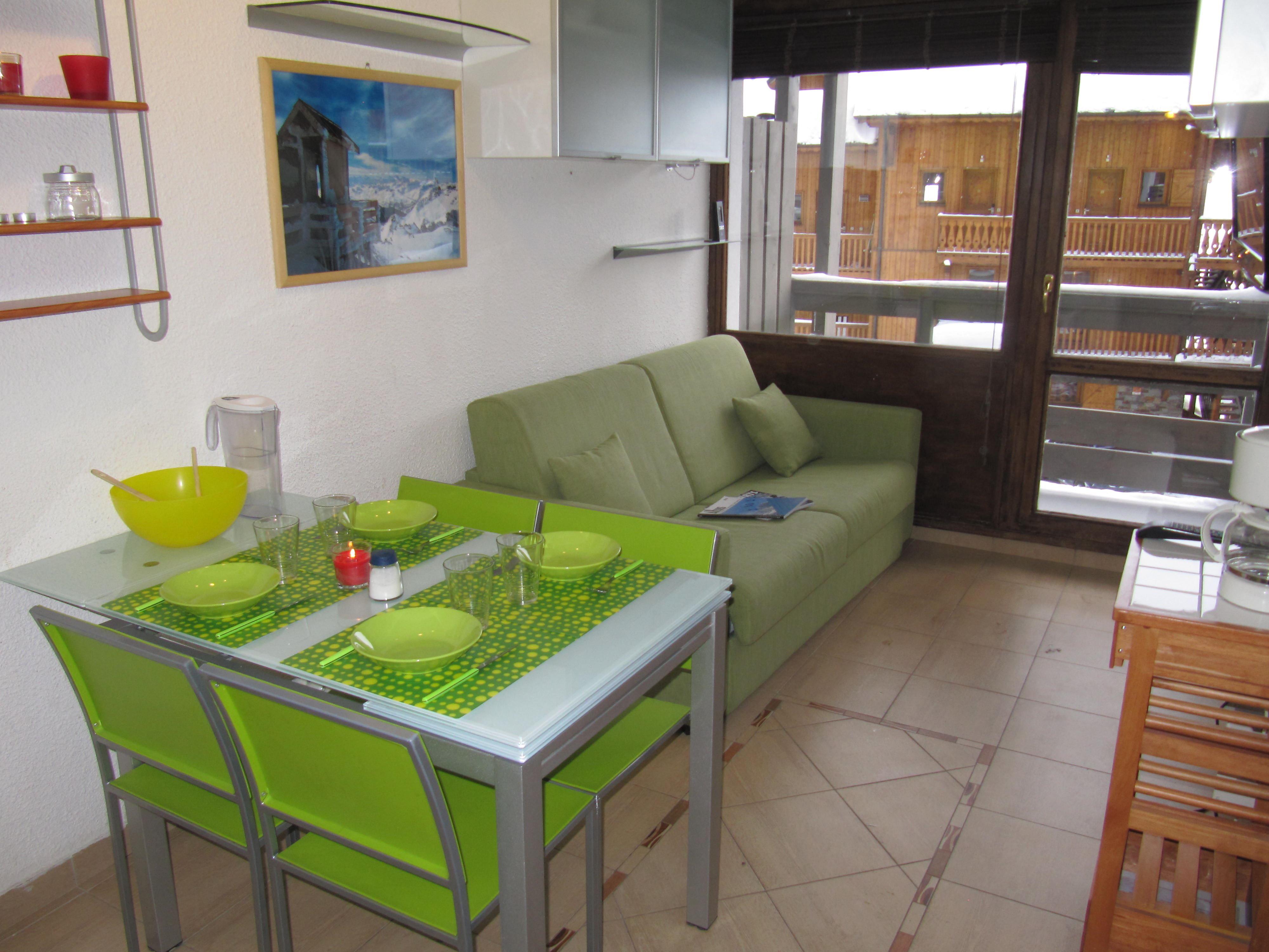 Lauzières 110 > Studio + Cabin - 3 Persons - 3 Silver Snowflakes (MCI)
