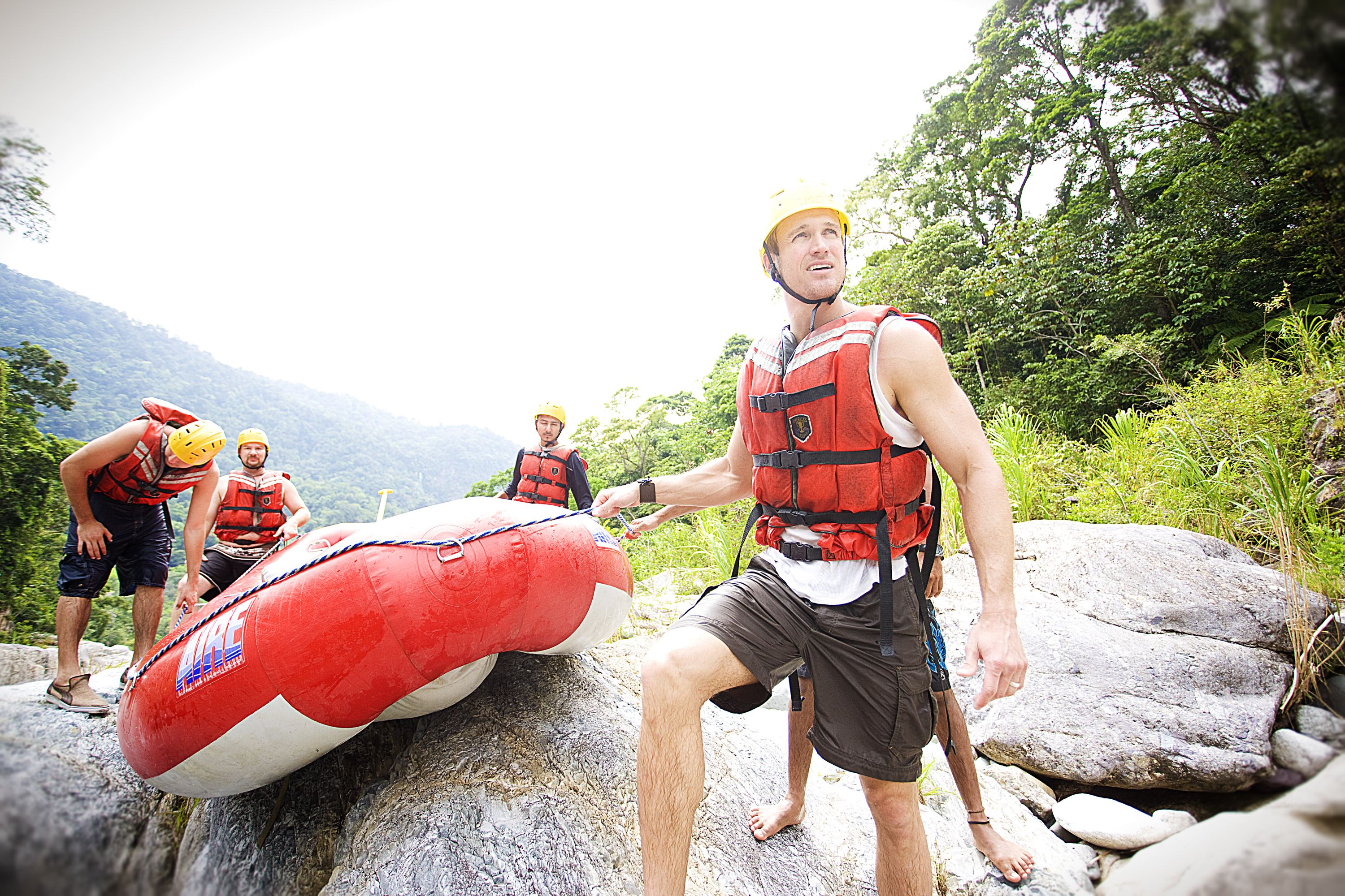 River Rafting at Cangrejal [Full Day]