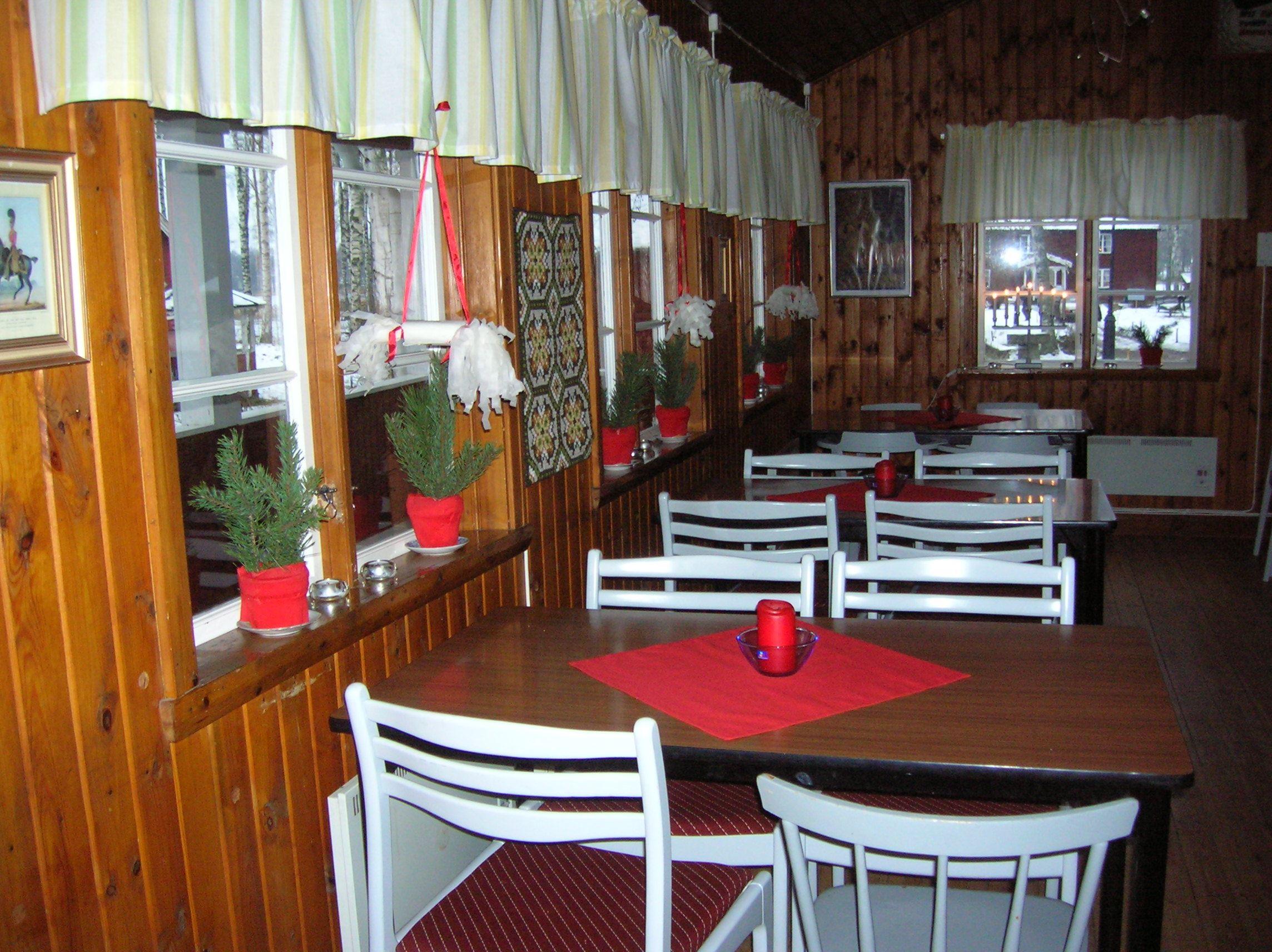 Julkaffe i Hultsfreds hembygdspark