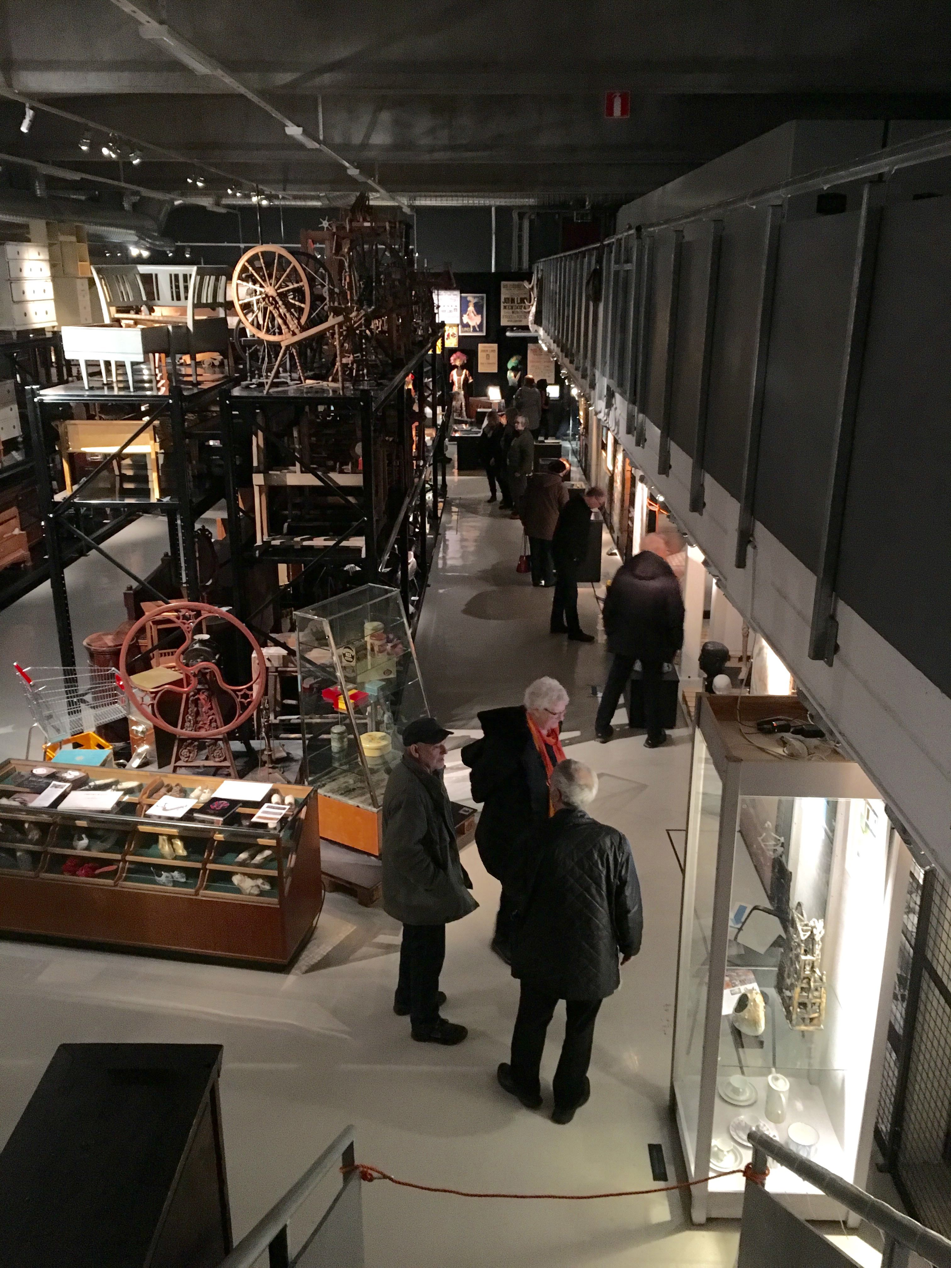 Öppet hus i Blekinge museums magasin