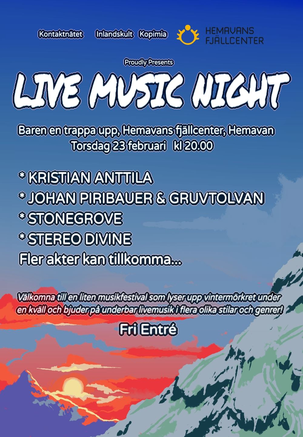 Live Music Night