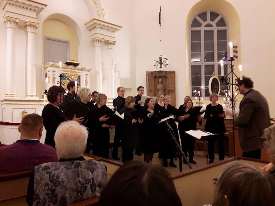Körkonsert i Gustafs kyrka