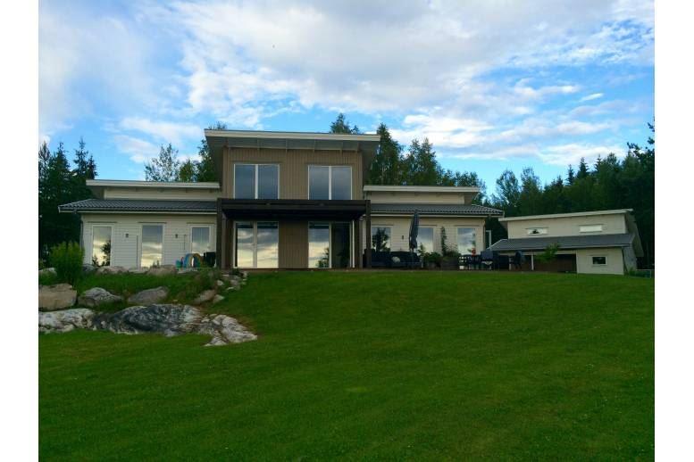 Arvika - Modern Villa med egen badstrand