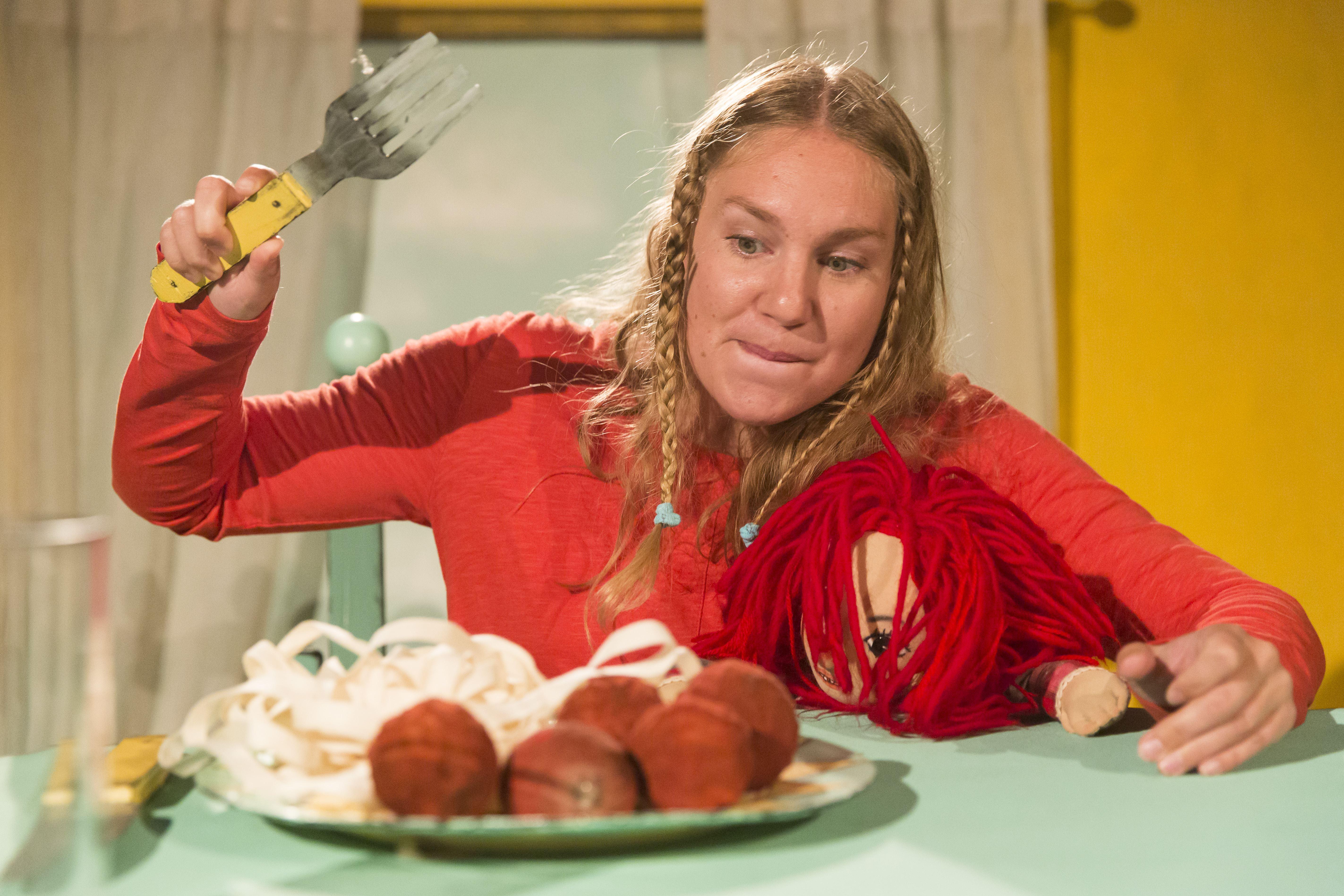 Barnkultur - Äta själv, Molière Ensemblen, Stockholm