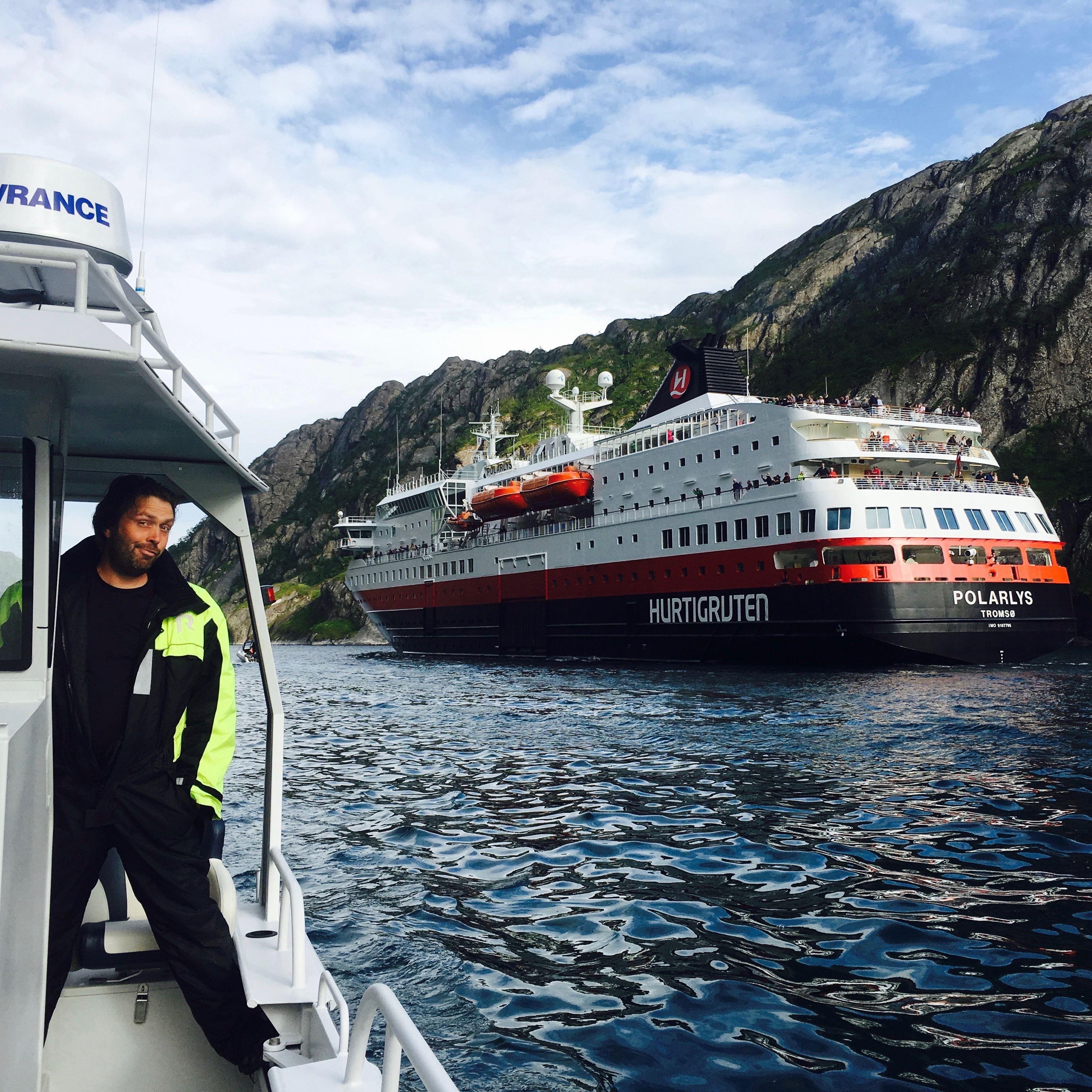 © Wild Seas, Trollfjord & Villmarks Cruise (Valgfritt Guidet Fottur)