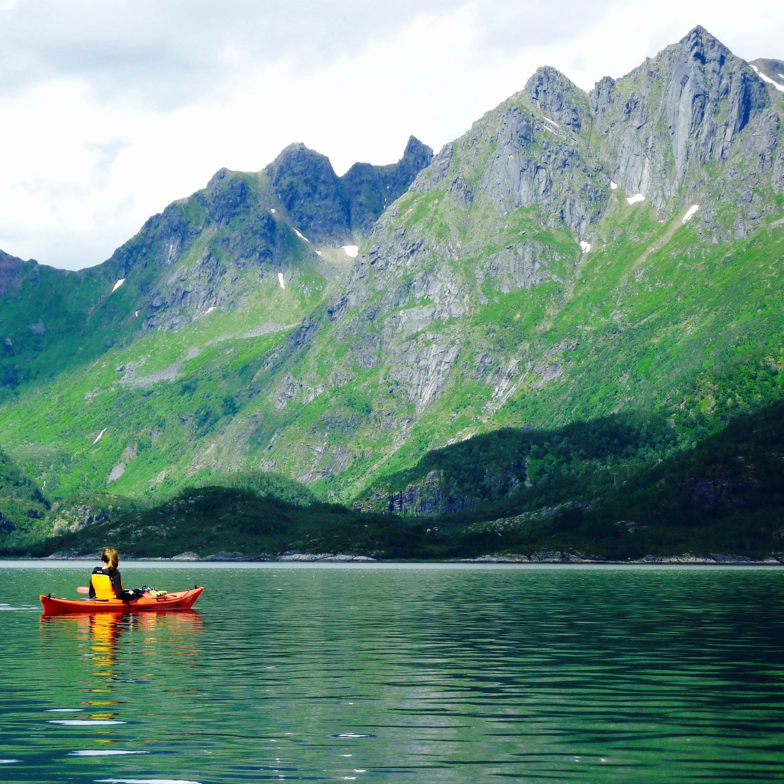 2 Days of Beach Glamping (Trollfjord & Wildlife Cruise - Kayaking)