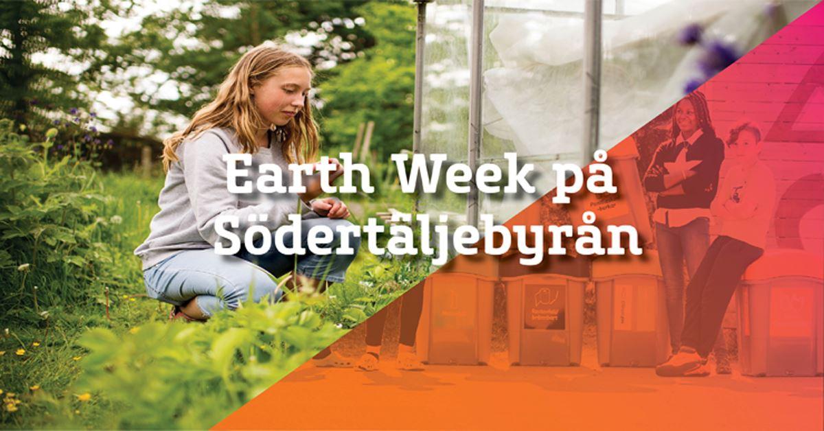 Earth Week på Södertäljebyrån - Utställning