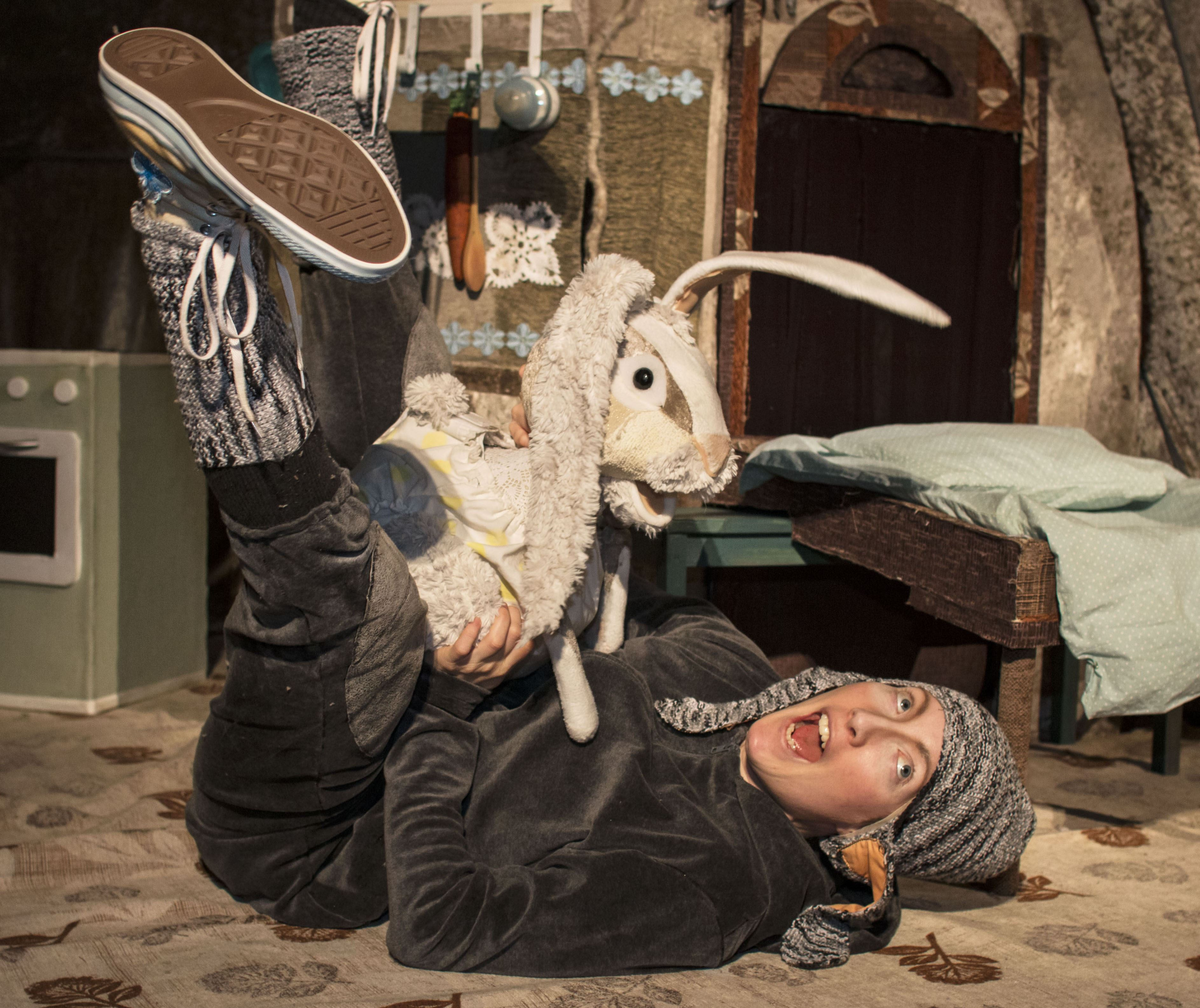 Barnteater - Min lillasyster Kanin, Dockteatern Tittut, Stockholm