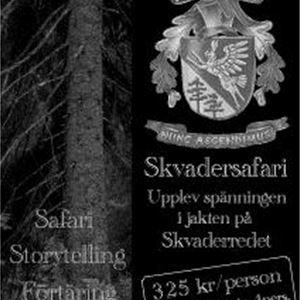 Der Treffpunkt auf dem Land und Skvader-Safari auf Lunde Gård