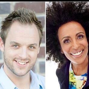 Stand-up-komedi med Marika Carlsson och Robin Paulsson