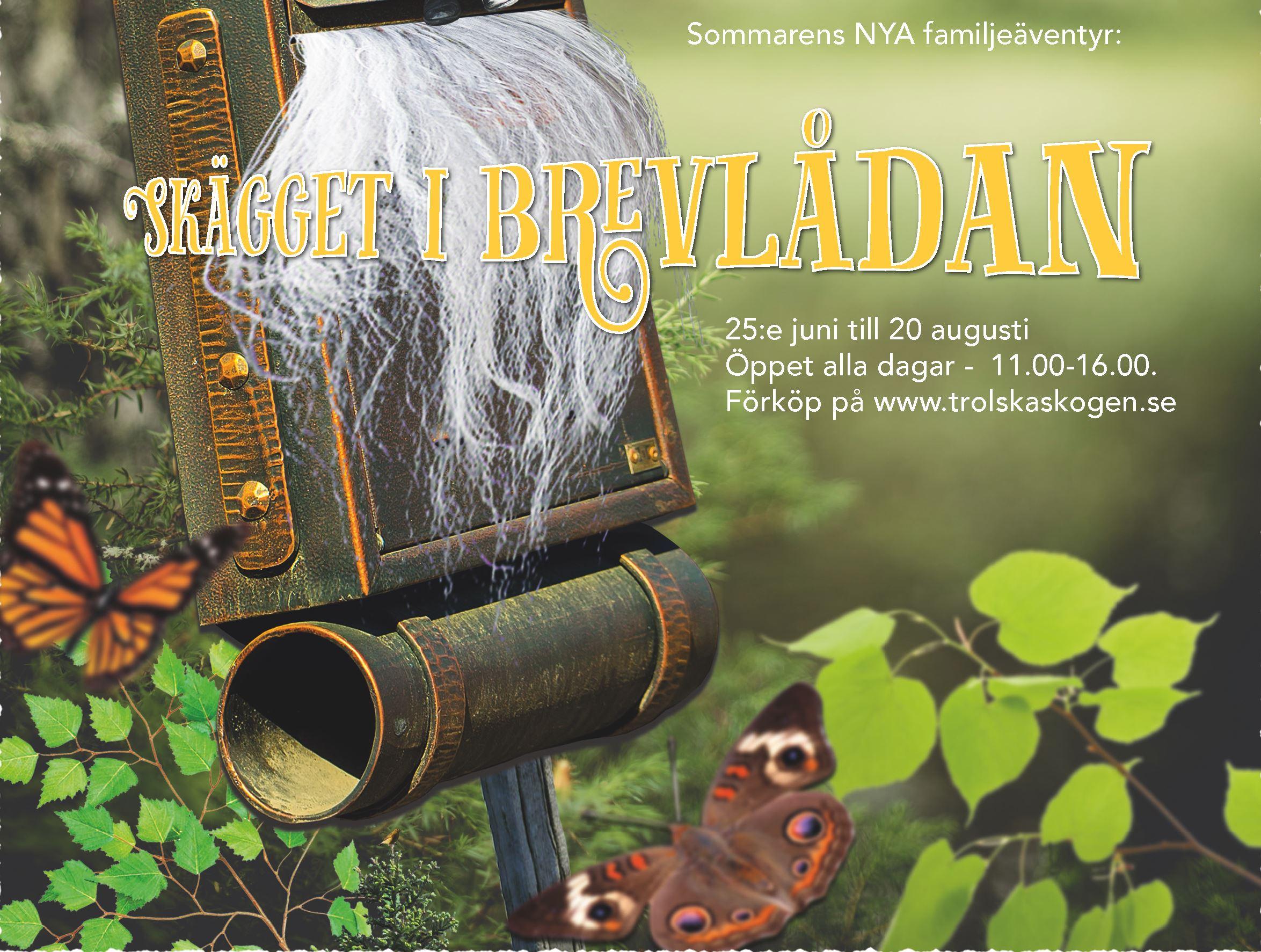 """Trolska Skogen - familjeäventyret """"Skägget i brevlådan"""""""