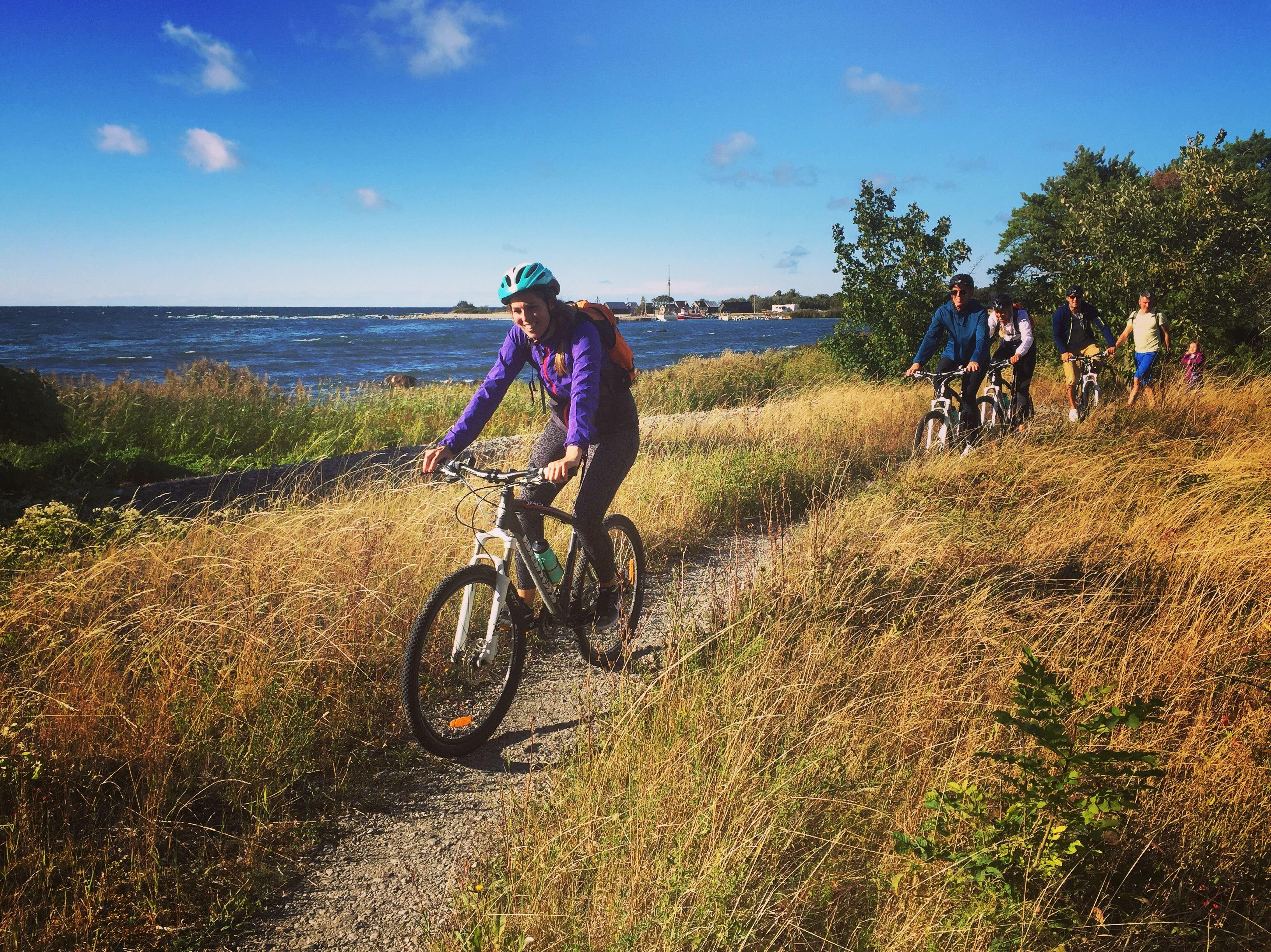 The great mountain bike ride