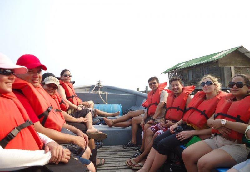 Viva el caribe en Cayos Cochinos