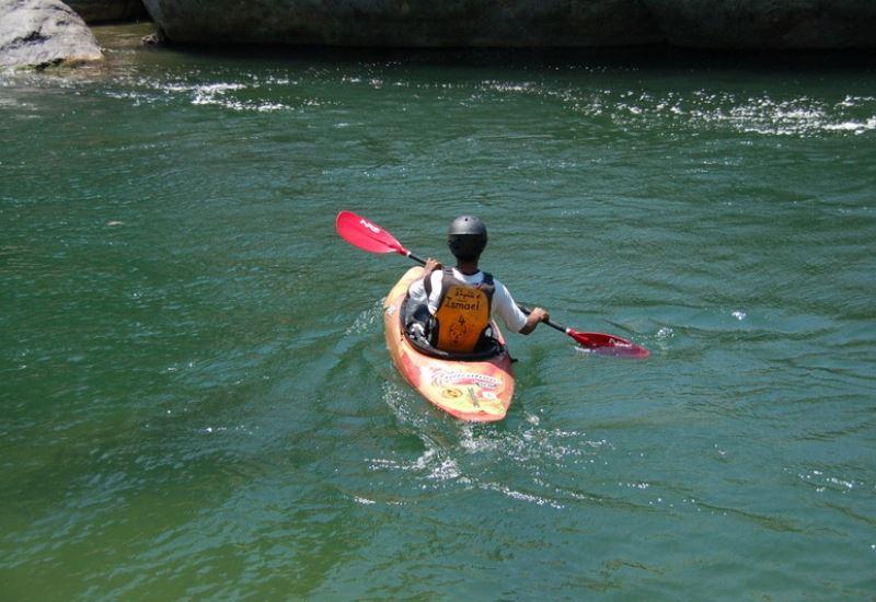 Rafting en el Río Cangrejal