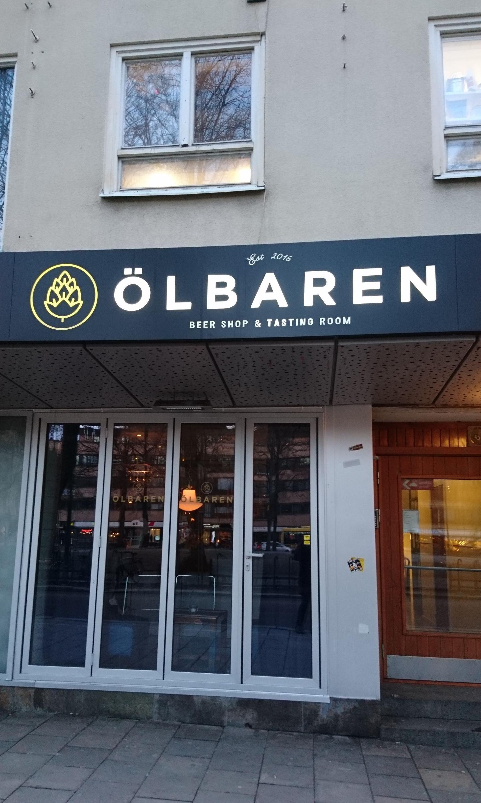 ÖLBAREN - Beer shop and tasting room