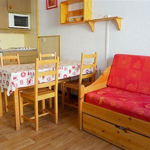 Lauzières 616 - 2 pièces + cabine - 6 personnes - 1 flocon bronze