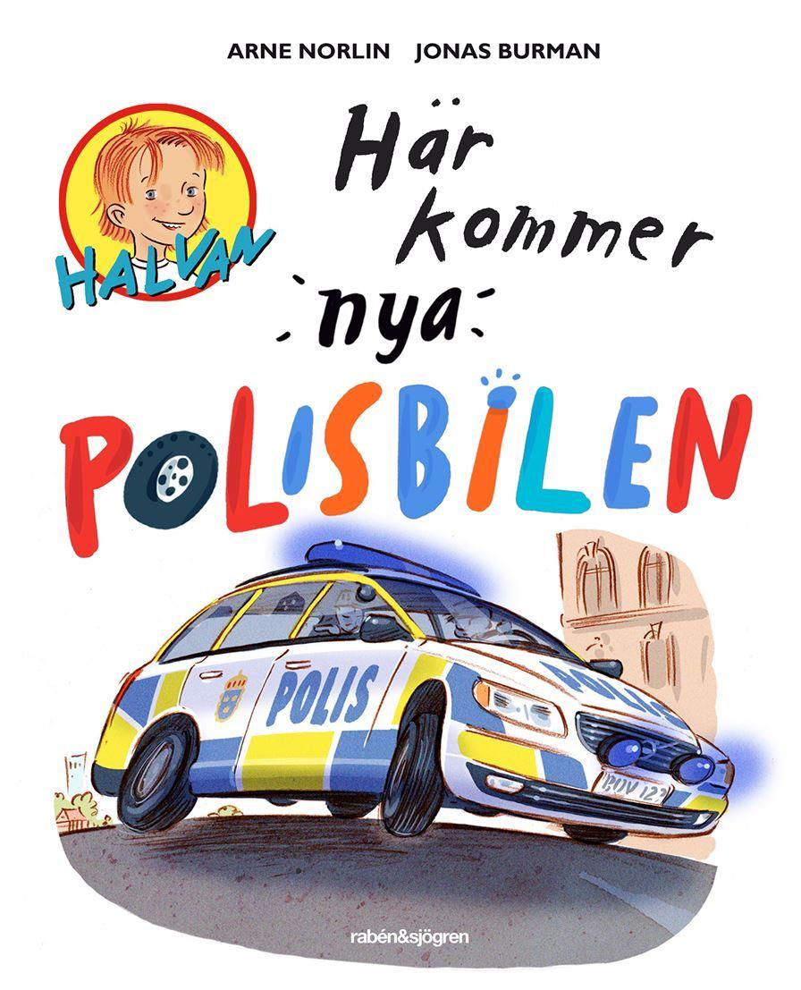 Sagostund med polisen Rolf