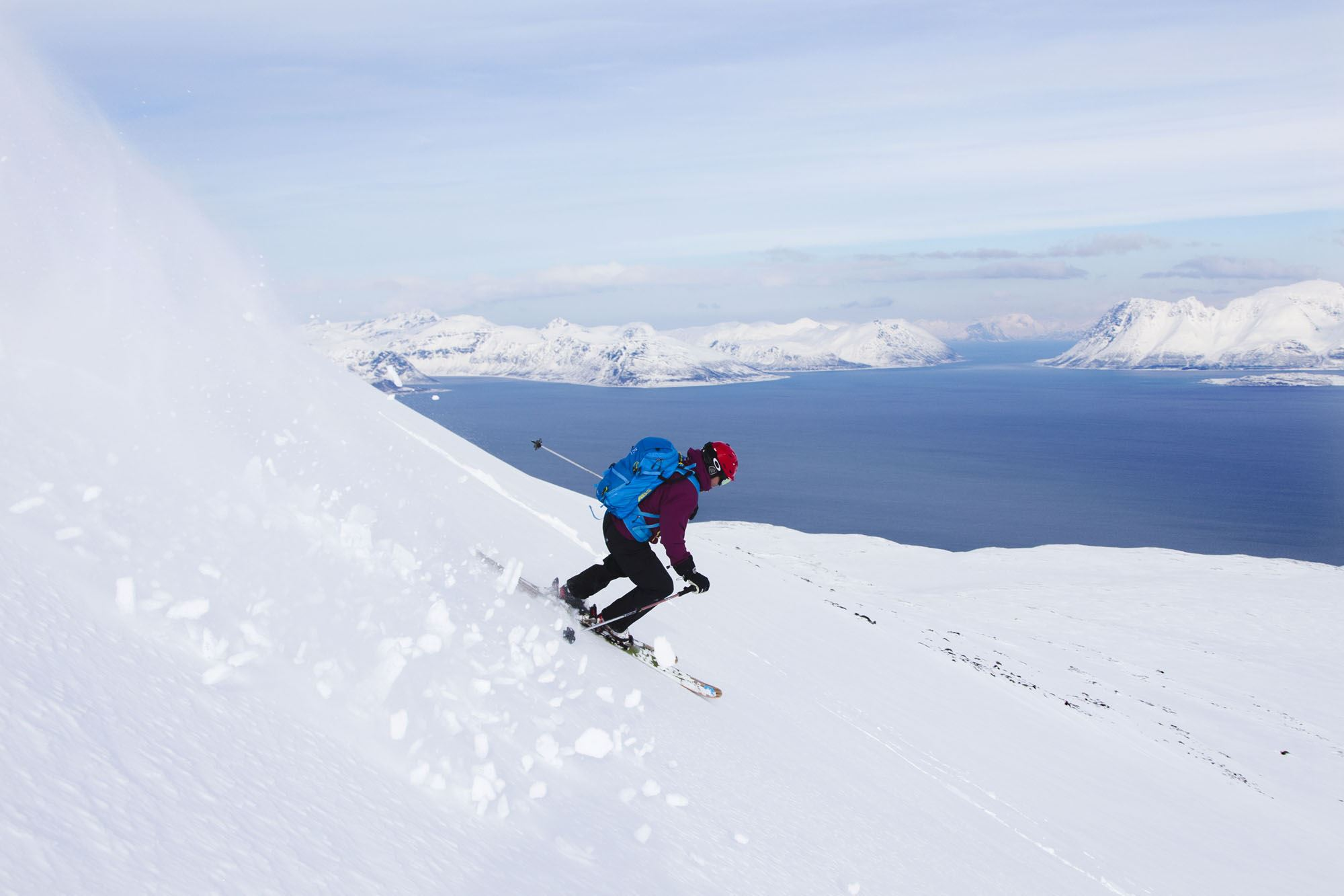 Ski and Sail in the Lyngen Alps with North Sailing Norway